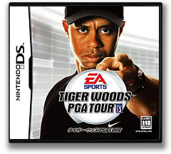 タイガーウッズ PGA TOUR DS cover (ATWJ)