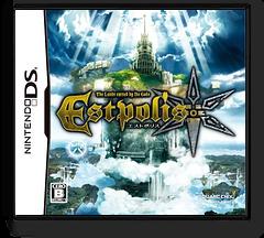 Estpolis - The Lands Cursed by the Gods DS cover (BSDJ)