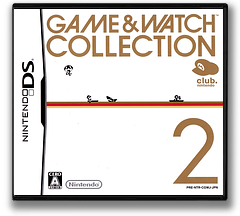 Game & Watch Collection 2 DS cover (CGWJ)