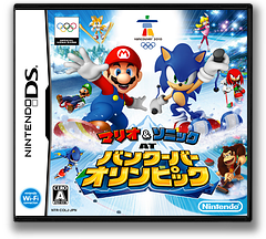 Mario & Sonic at Vancouver Olympic DS cover (COLJ)
