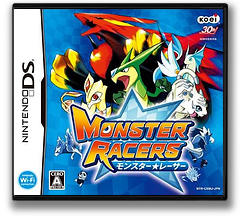 Monster Racers DS cover (CXMJ)