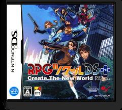 RPG Tsukuru DS+: Create the New World DS cover (VEBJ)
