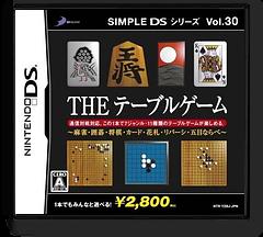 Simple DS Series Vol. 30 - The Table Game - Mahjong, Igo, Shougi, Card, Hanafuda, Reversi, Gomoku Narabe DS cover (YZBJ)