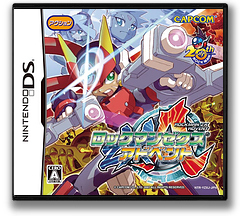Rockman ZX - Advent DS cover (YZXJ)