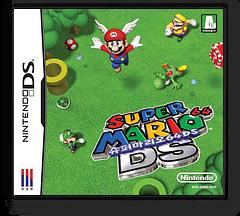슈퍼 마리오 64 DS DS cover (ASMK)