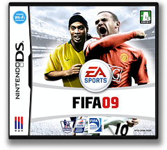 FIFA 09 DS cover (CF9K)