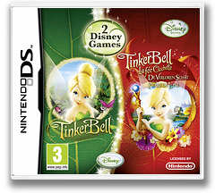 Tinker Bell + Tinker Bell and the Lost Treasure DS cover (B6KP)
