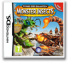 Strijd der Giganten - Monster Insects DS cover (BIGP)