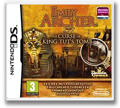 Emily Archer - The Curse of King Tut's Tomb DS cover (BUEY)