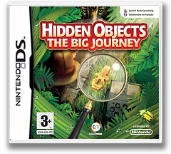 Hidden Objects - The Big Journey DS cover (CJ4P)