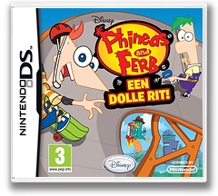 Phineas and Ferb - Ride Again DS cover (VPFV)