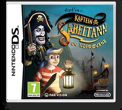 Kaptein Sabeltann og ildprøvene DS cover (B49P)
