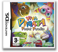 Viva Pinata - Pocket Paradise DS cover (CP3P)