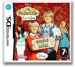 The Suite Life of Zack & Cody - Circle of Spies DS cover (A3HP)