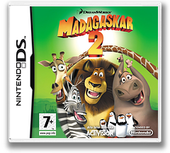 Madagascar - Escape 2 Africa DS cover (CMGP)
