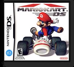 Mario Kart DS (Demo) DS cover (A39E)