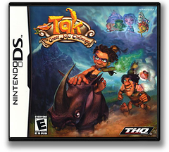 Tak - The Great Juju Challenge DS cover (A3TE)