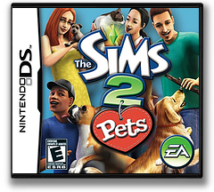 The Sims 2 - Pets DS cover (A4OE)