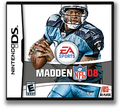 Madden NFL 08 DS cover (A5UE)