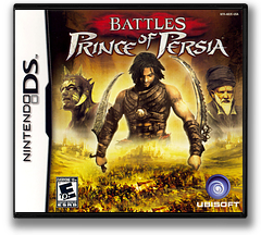 Battles of Prince of Persia DS cover (AB2E)