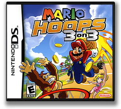 Mario Hoops 3 on 3 DS cover (AB3E)