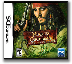Pirates of the Caribbean - Dead Man's Chest DS cover (AC2E)