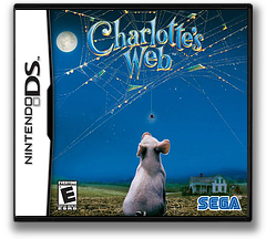 Charlotte's Web DS cover (ACJE)