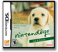 Nintendogs - Lab & Friends DS cover (AD3E)