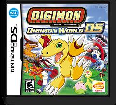 Digimon World DS DS cover (ADNE)