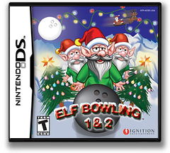 Elf Bowling 1 & 2 DS cover (AEBE)