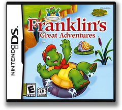 Franklin's Great Adventures DS cover (AFLE)