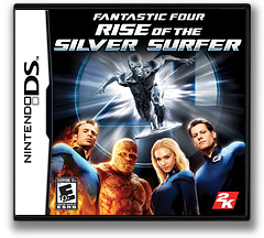 Fantastic Four - Rise of the Silver Surfer DS cover (AFVE)