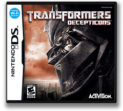Transformers - Decepticons DS cover (AFYE)