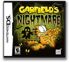 Garfield's Nightmare DS cover (AG5E)