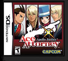 Apollo Justice - Ace Attorney DS cover (AGCE)