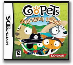 GoPets - Vacation Island! DS cover (AGQE)