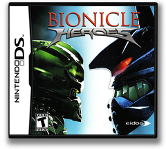 Bionicle Heroes DS cover (AH8E)