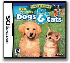 Paws & Claws - Best Friends - Dogs & Cats DS cover (AHJE)
