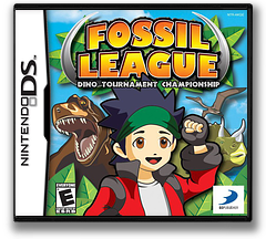 Fossil League - Dino Tournament Championship DS cover (AKGE)