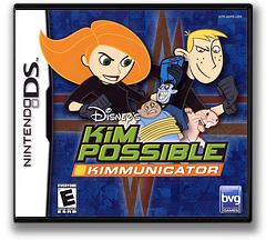 Kim Possible - Kimmunicator DS cover (AKPE)