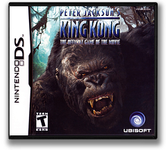 Peter Jackson's King Kong - The Official Game of the Movie DS cover (AKQE)