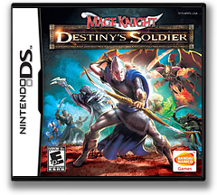 Mage Knight - Destiny's Soldier DS cover (AMPE)
