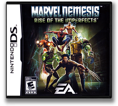 Marvel Nemesis - Rise of the Imperfects DS cover (AMVE)