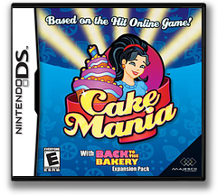 Cake Mania DS cover (AOYE)