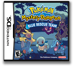 Pokémon Mystery Dungeon - Blue Rescue Team DS cover (APHE)