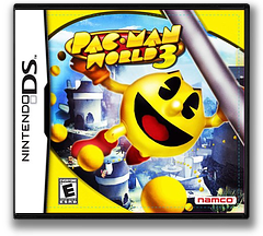 Pac-Man World 3 DS cover (APWE)