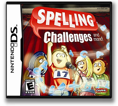 Spelling Challenges and More! DS cover (AQ5E)