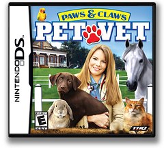Paws & Claws - Pet Vet DS cover (AQVE)