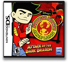 American Dragon - Jake Long - Attack of the Dark Dragon DS cover (ARDE)