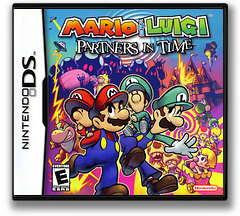 Mario & Luigi - Partners in Time DS cover (ARME)